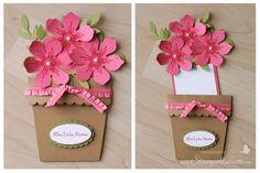 Blumentopfkarte zum Muttertag