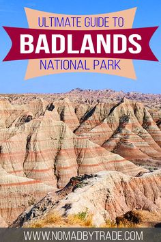 Plan the perfect trip to Badlands National Park in South Dakota with this guide that features all the best hikes and tips. Click for more info! #SouthDakota #USA #NationalParks