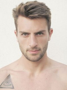 Short sides, medium on top. #menshair