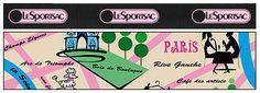 LeSportsac Print Archive 2004 | lesportsac.com Tour de France print