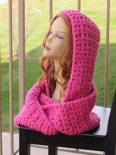 Crochet Dreamz: Autumn Cowl, Chunky Hooded Cowl, Free Crochet Pattern
