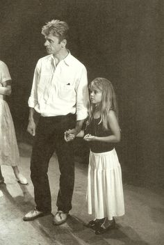 Mikhail Baryshnikov with his daughter Shura, 1987. Photo by Eve Arnold