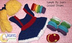 Ravelry: Brite Girl Set pattern by Too Yarn Cute