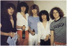 Original Def Leppard line-up with Pete Willis