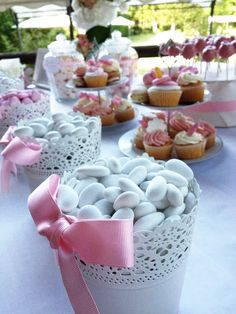 how to make a cheap candy table how to make a cheap candy table - myeasyidea sites Candy Table, Candy Buffet, Dessert Table, Baby Party, Baby Shower Parties, Cheap Candy, Snacks Für Party, Girl Decor, High Tea
