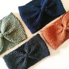 いいね!13件、コメント1件 ― PASAPÀ - Handmade accessoriesさん(@pasapa.craft)のInstagramアカウント: 「😍 Ecco le mie quattro fasce a fiocco: verde e blu ( misto lana), nero e arancio (filato 💯%…」