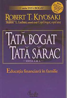 Autor: Robert Kiyosaki www. Robert Kiyosaki, Carti Online, Good Books, Books To Read, Amazing Books, Rich Dad, Thing 1, Tony Robbins