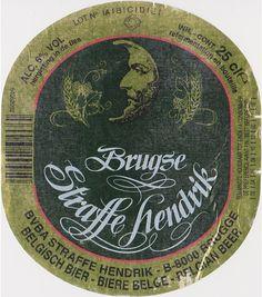 Brugse Straffe Hendrik Blond, Belgian Ale 6,0 % ABV (Huisbrouwerij De Halve Maan, Bélgica) #label