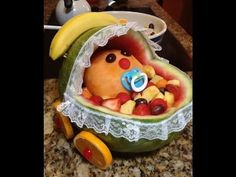 Baby Shower~ WaterMelon Carriage - YouTube