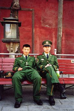 Soldiers, Forbidden City, Beijing
