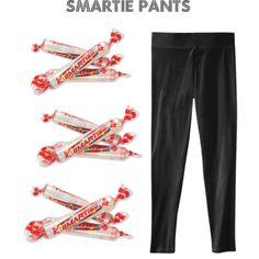 3 Easy Last-Minute Costume Ideas: Smartie Pants