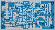 Add bass tones with bass enchanger Hifi Amplifier, Audiophile, Diy Electronics, Electronics Projects, Subwoofer Box Design, Electronic Circuit Projects, Electronic Schematics, Circuit Diagram, Shop Layout