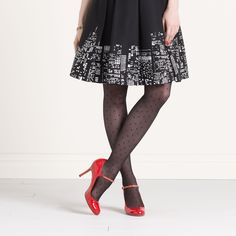 swiss dot tights from kate spade new york