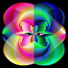 Symmetrical Rainbow Coils