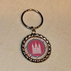 LDS Temple Bottle Cap Keychain by bowpeepcreations on Etsy, $2.50  Accessories  lds  primary  bottlecap  zipper pull  bottle cap  children  religious  keychain  relief society  temple young women  visiting teaching  salt lake temple