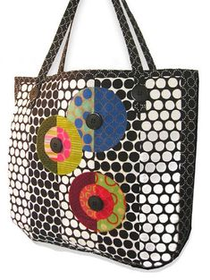 Color Beat Tote – Free Sewing Pattern