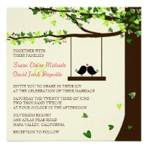 Cute Summer Wedding invites