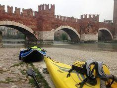 Tour in #kayak per #CalzeGMfriends #maifermi