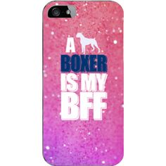 A BOXER IS MY BFF (BEST FRIEND FOREVER) -  iPhone 5 / 5S Cover - Only $21.99 + FREE SHIPPING WITHIN USA #boxer #boxerdogs #bff #bestfriendforever #iphone6cases #iphone5Scovers #iphone5cases #iphone5Scases #iphonecases