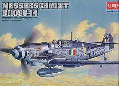 Messerschmitt Bf 109G-14. Academy, 1/48, injection, No.12256. Price: 11,99 GBP.