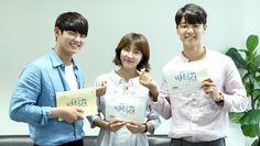 "Ha Ji-won, Kang Min-hyuk and Lee Seo-won's first script reading for ""Hospital Ship"" Kang Min Hyuk, Cnblue, Minhyuk, Korean Drama 2017, Korean Drama Movies, Korean Dramas, Live Action, Age Of Youth, Kwon Mina"
