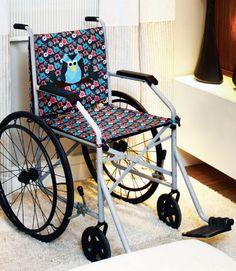 Cadeira de rodas customizada