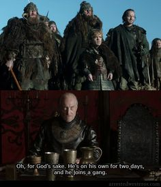 Arrested Game of Thrones