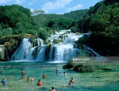 Kaka National Park, Croatia. Named after the River Krka, Krka National Park in Dalmatia is famous for its lakes and waterfalls.