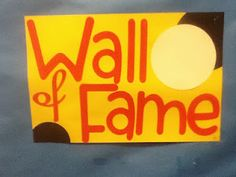 Make a Wall of Fame for students to sign after completing goals.