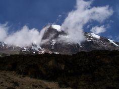 summit in sight @ kilimanjaro