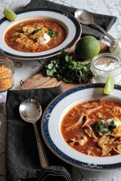 Incredible tortilla soup | themodernproper.com