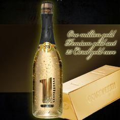 GOLD CUVE - zalte šampanske www.coolish.sk Champagne, Drinks, Bottle, Gold, Drinking, Beverages, Flask, Drink, Jars