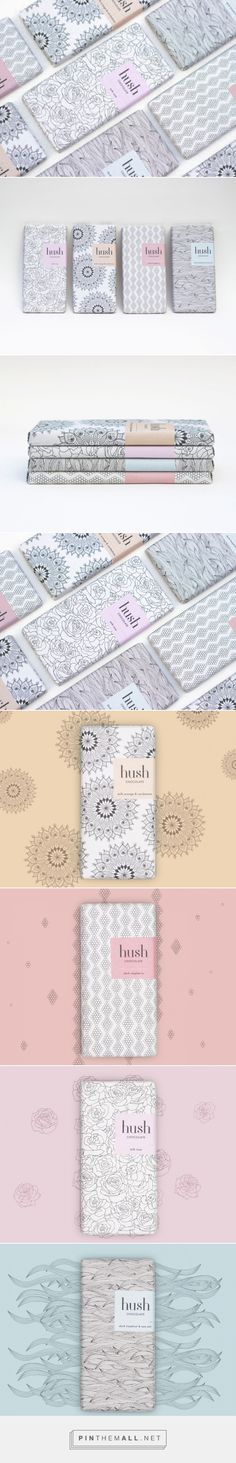 Hush Chocolate         on          Packaging of the World - Creative Package Design Gallery - created via https://pinthemall.net