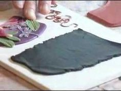 ▶ Clay Stamp Necklace - YouTube