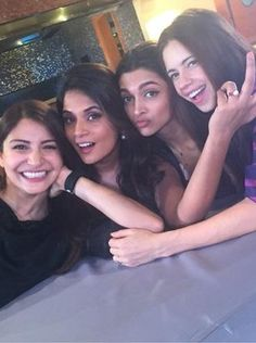 Anushka Sharma,Richa Chadda, Deepika Padukone and Kalki Koechlin. Bollywood Heroine, Beautiful Bollywood Actress, Beautiful Actresses, Bollywood Photos, Bollywood Stars, Bollywood Fashion, Indian Celebrities, Bollywood Celebrities, Indian Actresses