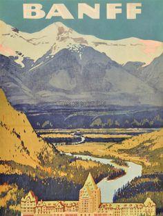 Banff National Park!