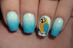 Parrot Nails, but I do not have steady hands to do this haha!
