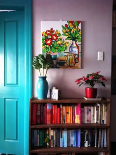 I love everything about it!  Colorful Home Decor for sure!
