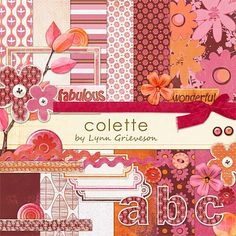 Colette Kit - Digital Scrapbooking Kits DesignerDigitals