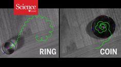 Spinning ring puts surprising twist on familiar physics