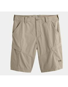 The Under Armour's Men's Guide Shorts are comfortable and durable for fly fishing in warm weather.