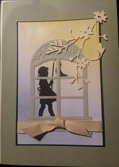 Frame, Design, Home Decor, Die Cutting, Stamping Up, Cards, Room Decor, Frames, Design Comics
