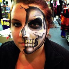Here's some faces I did for Halloween 2014