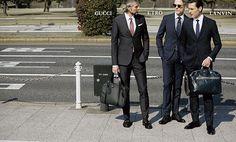 男たちの集団美 スーツの群像|ビジネス|ファッション|WEB GOETHE