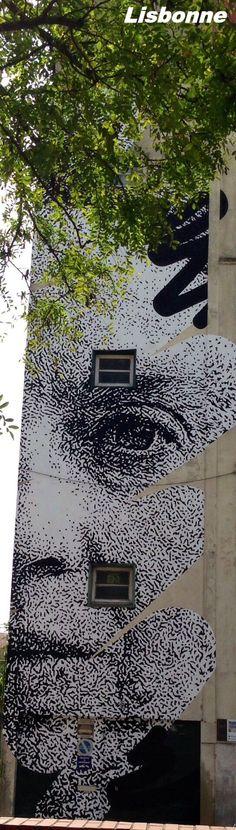 Peintures sur façade - Lisbonne