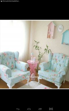 Home Decor Ideas Natural Pastel Living Room, Pastel Room, Colourful Living Room, Home Living Room, Living Room Decor, Bedroom Decor, Comedor Shabby Chic, Muebles Shabby Chic, Home Room Design