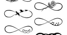 infinity tattoos for women | Couples matching eternal tattoo infinity ...