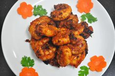 """The other day when I bought prawns, D promptly put up his request. """"Mama, please make Stir Fried Prawns. You know how much I love it. """" I was so looking forward to try out some new recipe. D's request put me in a spot. After racking my brains for a while, I zeroed in on Moroccan Spicy Prawns. It is"""