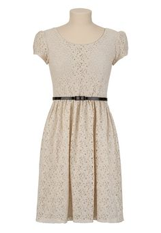 Lace summer dress. Vintage