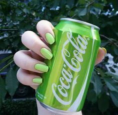Image about nature in perf vibes by chuchubyubyu - Emilia Fleming Rainbow Aesthetic, Aesthetic Colors, Aesthetic Pictures, Aesthetic Objects, Green Coke, Neon Green, Green Theme, Green Colors, Colours